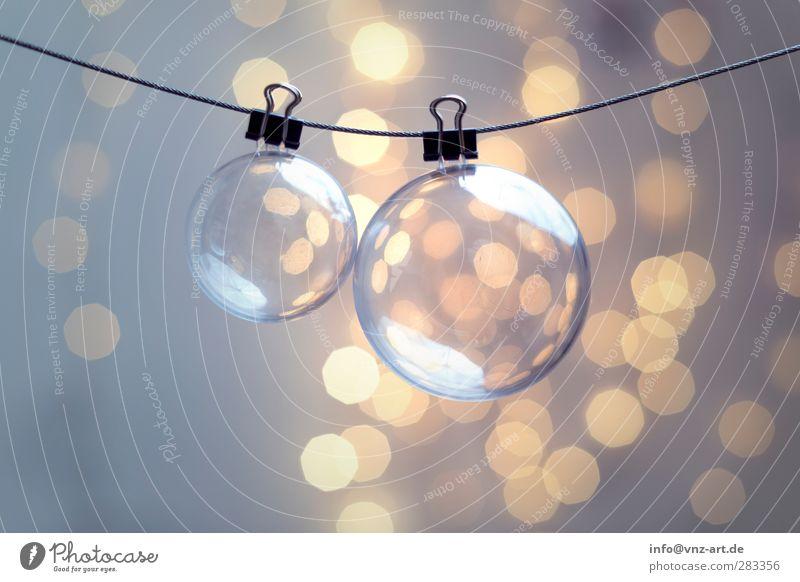 Xmas Weihnachten & Advent schön Feste & Feiern Stimmung modern Kugel Schmuck Christbaumkugel verschönern Weihnachtsdekoration Lichterkette