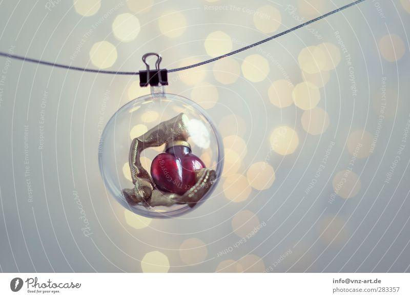 Xmas Weihnachten & Advent schön Feste & Feiern Stimmung Herz modern Kugel Schmuck Christbaumkugel verschönern Weihnachtsdekoration Lichterkette