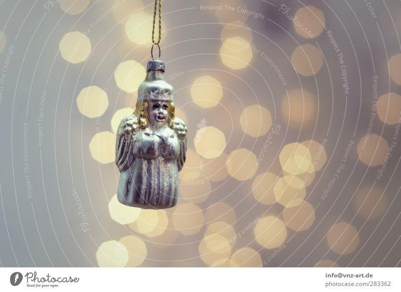 Engel Weihnachten & Advent schön Feste & Feiern Stimmung modern Schmuck Christbaumkugel verschönern Weihnachtsdekoration Lichterkette Baumschmuck