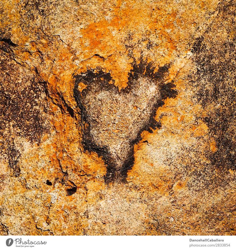stoneheart Umwelt Natur Urelemente Klimawandel Felsen Stein Herz Gefühle Glück Fröhlichkeit Zufriedenheit Lebensfreude Frühlingsgefühle Kraft Leidenschaft Liebe