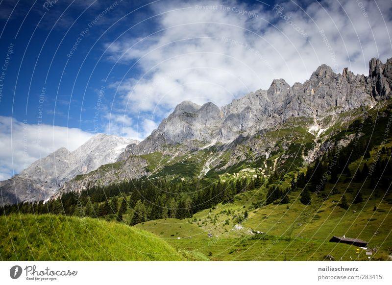 Hochkönig Himmel Natur blau grün Pflanze Wolken Landschaft Umwelt Berge u. Gebirge grau groß ästhetisch Schönes Wetter Alpen Gipfel Österreich