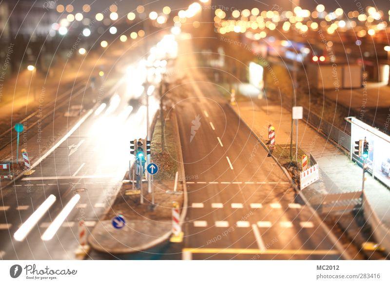 Mini City Stadt Straße Linie Mobilität Bahnhof Straßenverkehr