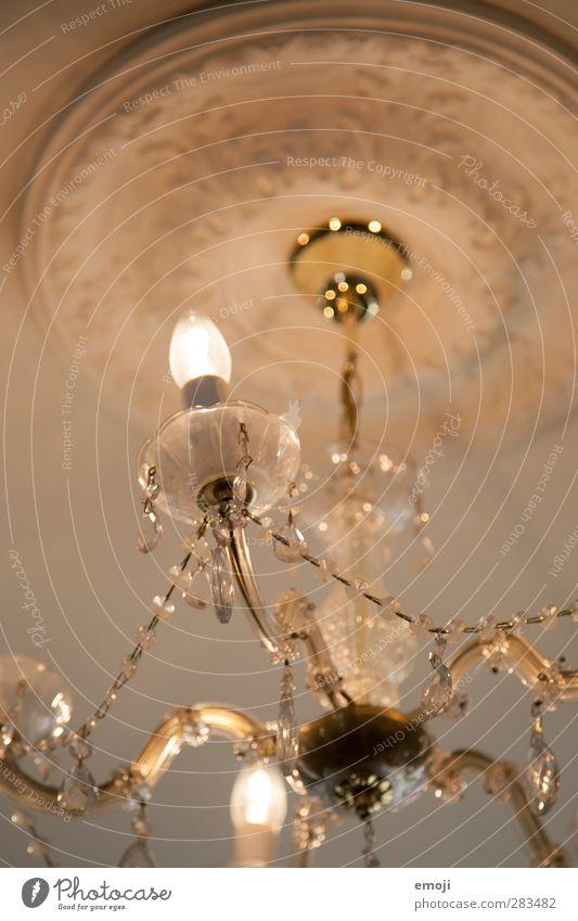 Faszination alt Innenarchitektur Lampe Kitsch historisch Decke altmodisch Kronleuchter Lampenlicht