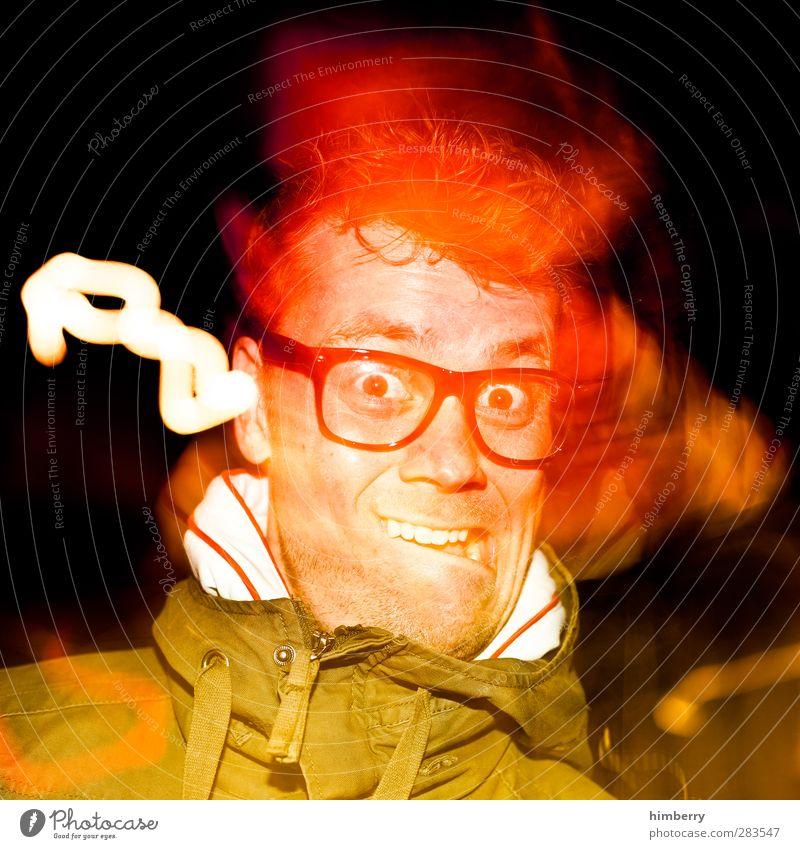 hypnotiser Mensch Mann Jugendliche Freude Erwachsene Junger Mann 18-30 Jahre Leben Haare & Frisuren Stil Feste & Feiern Party Mode Musik maskulin Lifestyle