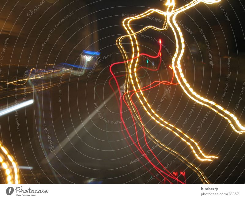 blackout gegen 5 Nacht Beton Langzeitbelichtung Geschwindigkeit Ampel Bewusstseinsstörung Filmriss Düsseldorf Straße Bewegung Verkehrswege himbeertoni