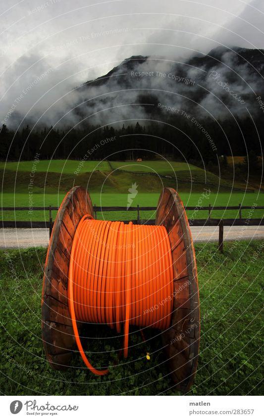 Apfelsi.net Unterhaltungselektronik Telekommunikation Informationstechnologie Landschaft Himmel Wolken Herbst Wetter schlechtes Wetter Nebel Baum Gras Wiese