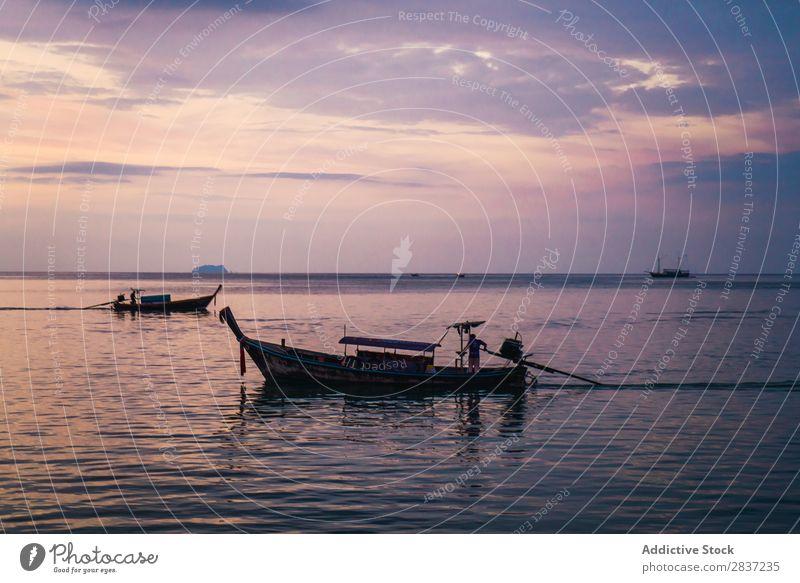 Maya Bay in Koh Phi Phi Phi, Thailand schön Wasser Natur Küste Asien tropisch Himmel Strand Insel Ferien & Urlaub & Reisen Paradies Meer Landschaft Sand Sommer