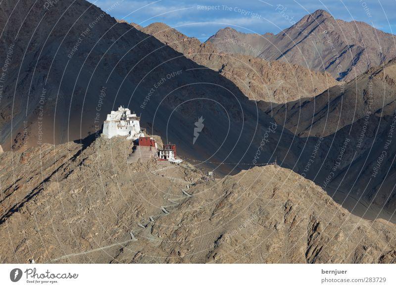 How I wish you were here Architektur Menschenleer Kirche Sehenswürdigkeit Einsamkeit einzigartig Namgyal Kloster Leh Ladakh Berge u. Gebirge Himalaya