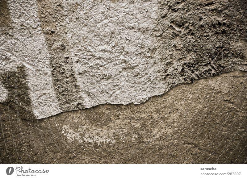 Graffiti alt Stadt Wand Mauer Gebäude Stein Fassade Beton kaputt malen verfallen Jugendkultur trashig Putz brechen