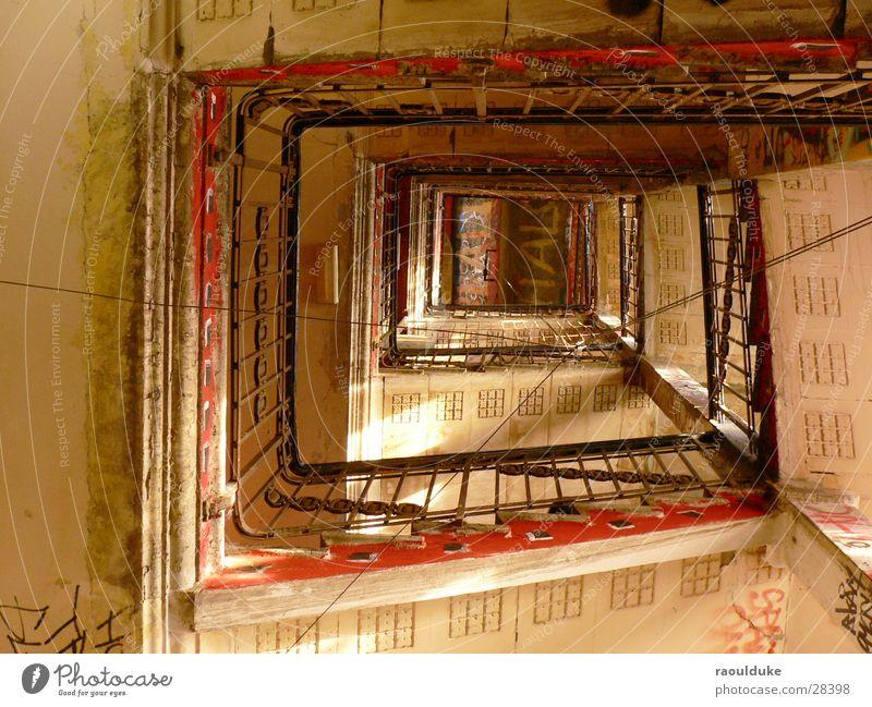 Treppe Tacheles Berlin Architektur Spirale Anarchie Oranienburger Straße