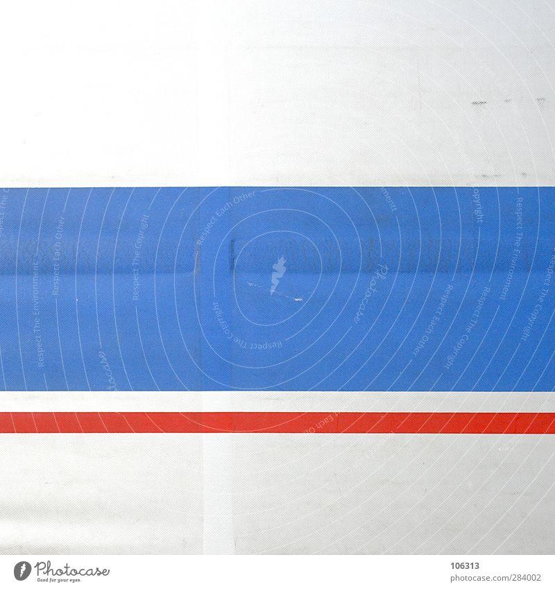 9½ zu 1 blau rot Farbe Linie Schilder & Markierungen Design Partnerschaft Figur eckig graphisch Block Rechteck Zwischenraum