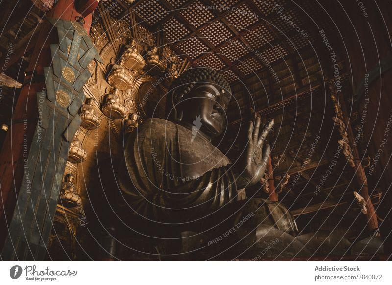 Riesen-Buddha-Statue Tempel Religion & Glaube Buddhismus Asien Ferien & Urlaub & Reisen alt Kultur antik Architektur asiatisch Wahrzeichen Kunst Frieden