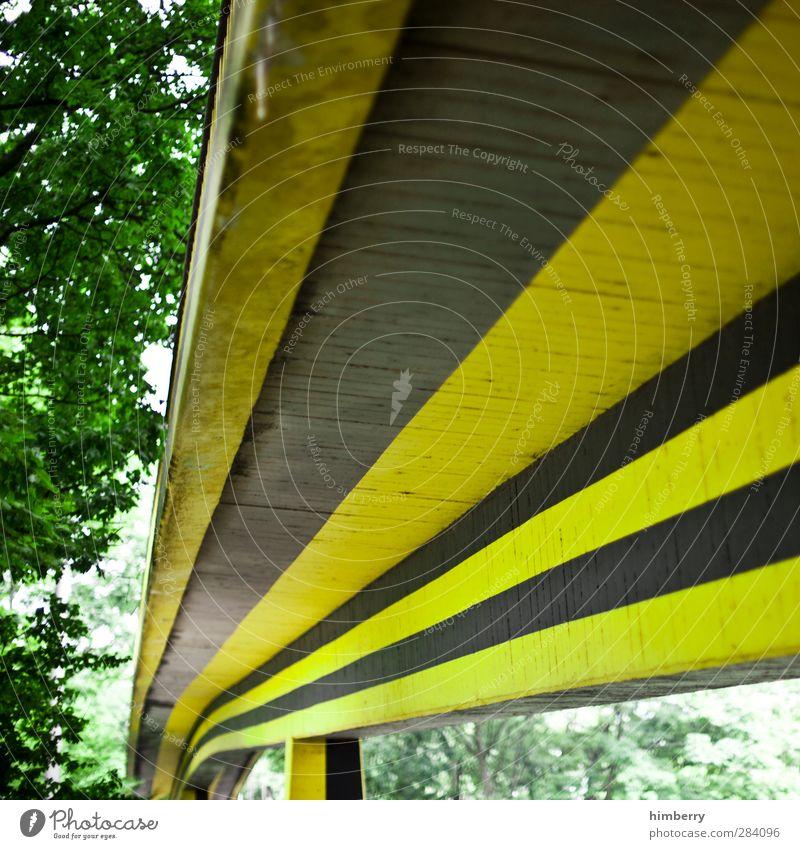 autobahn Bauwerk Gebäude Architektur Verkehr Verkehrswege Personenverkehr Straße Autobahn Hochstraße Brücke Coolness Bewegung modern Straßenkunst Farbstoff