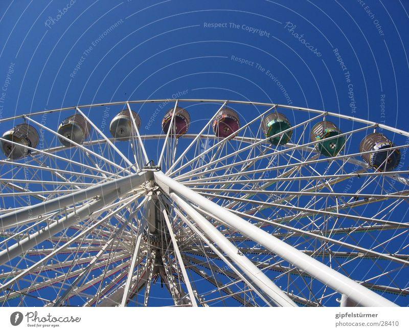 Riesenrad Himmel Freizeit & Hobby Jahrmarkt drehen Riesenrad