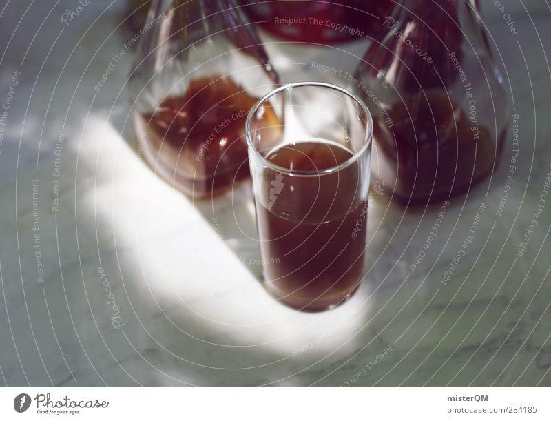 Una Spezi Por Favor. Kunst ästhetisch Getränk Biergarten Glas Cola Durst Durstlöscher Farbfoto Gedeckte Farben Außenaufnahme Nahaufnahme Detailaufnahme