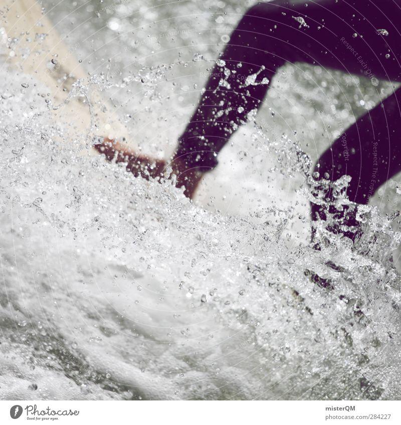 The Best Religion I Natur Jugendliche Ferien & Urlaub & Reisen Freude Sport Freiheit Fuß Kunst Wellen Freizeit & Hobby Lifestyle ästhetisch Wassertropfen