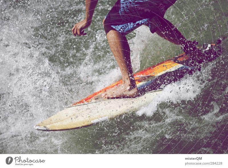 The Best Religion II Lifestyle Kunst ästhetisch Freizeit & Hobby Freiheit Wellen Wellengang Wellenform Wellenschlag Wellenbruch Surfen Surfer Surfbrett