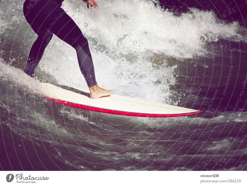 The Best Religion III Lifestyle Kunst ästhetisch Freizeit & Hobby Freiheit Wellen Wellengang Wellenform Wellenbruch Surfen Surfer Surfbrett sportlich Sport