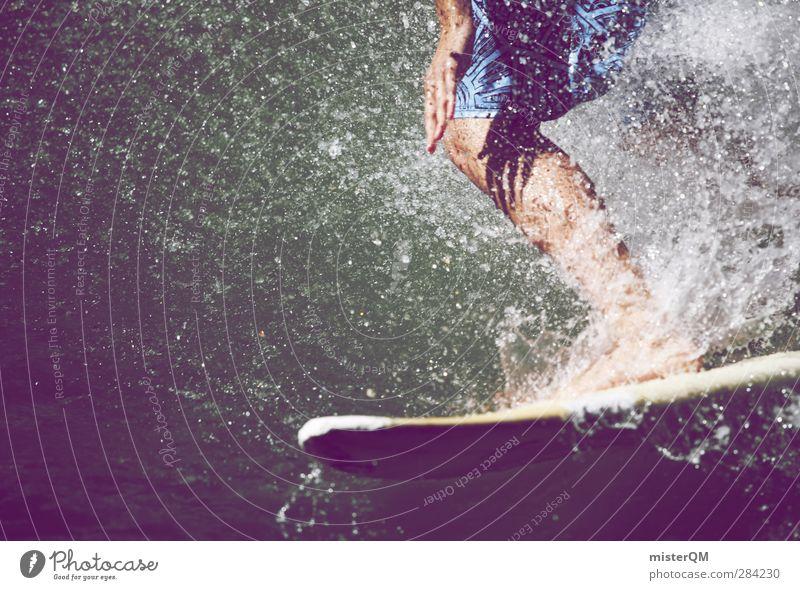 The Best Religion IV Lifestyle Kunst ästhetisch Freizeit & Hobby Freiheit Surfbrett Wellen Wellengang Wellenform Wellenbruch Surfen Surfer sportlich Sport