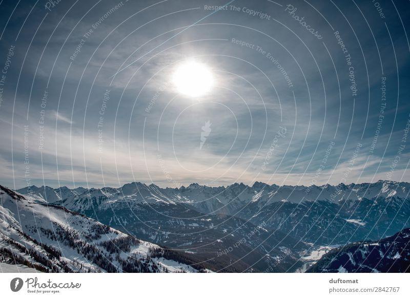 Higher Ground harmonisch Zufriedenheit ruhig Ausflug Abenteuer Ferne Winter Schnee Winterurlaub Berge u. Gebirge wandern Skifahren Natur Landschaft Urelemente