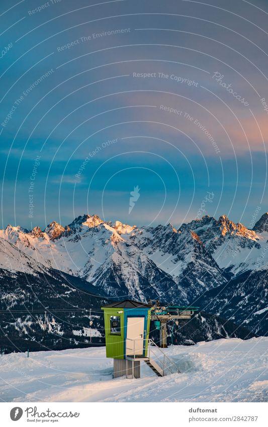 Bademeister Zufriedenheit Freizeit & Hobby Ausflug Freiheit Winter Schnee Winterurlaub Berge u. Gebirge wandern Wintersport Skifahren Snowboard Skipiste Natur