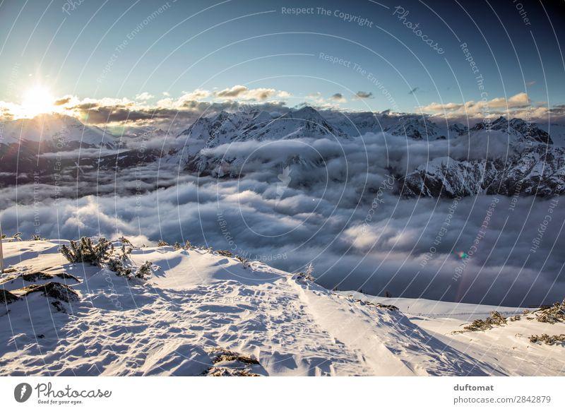 Top of the Rocks Abenteuer Ferne Winter Schnee Winterurlaub Berge u. Gebirge wandern Weihnachten & Advent Wintersport Skifahren Snowboard Natur Landschaft