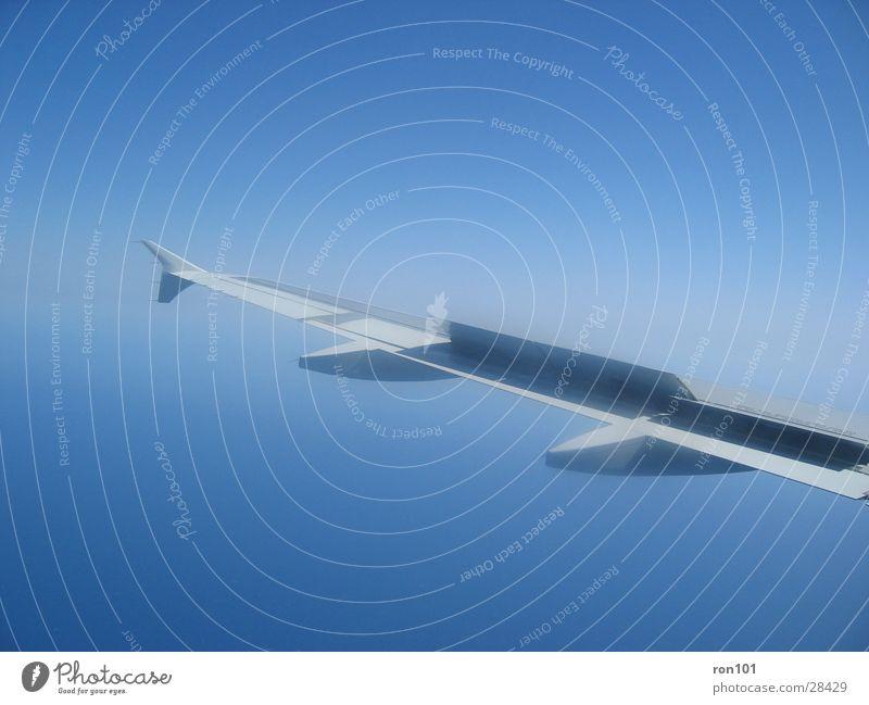 flyaway Himmel blau Wolken Flugzeug Luftverkehr