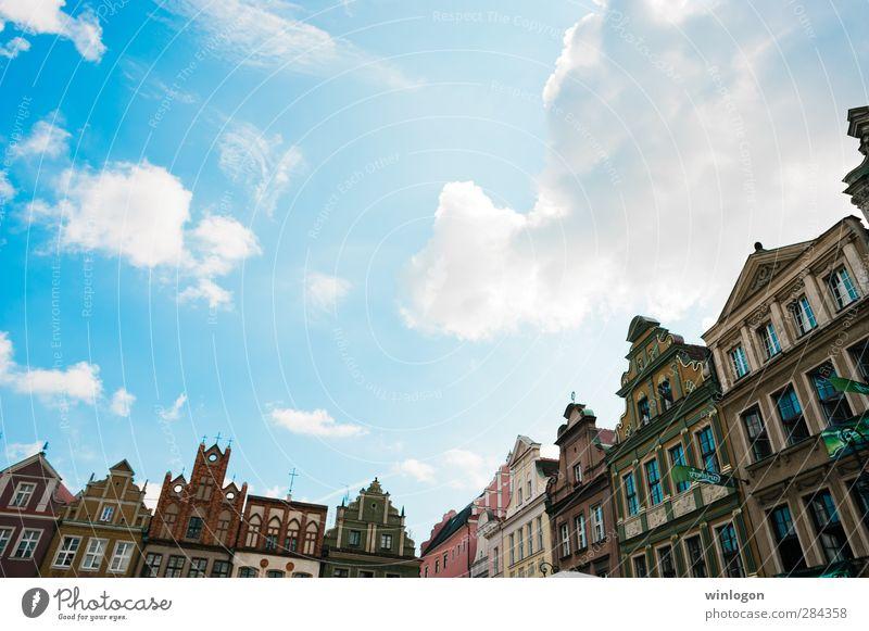 Posener Innenstadt Reichtum elegant Design Ferien & Urlaub & Reisen Sightseeing Städtereise Sommer Haus Kunst Architektur Kultur Jugendstil Poznan Polen Europa