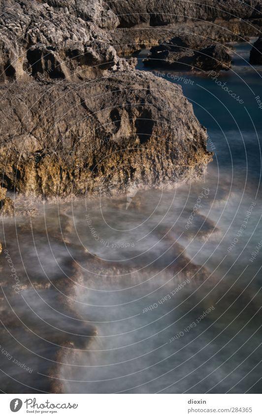 The Strength Ferien & Urlaub & Reisen Ausflug Abenteuer Sommer Sommerurlaub Meer Insel Wellen Umwelt Natur Urelemente Wasser Felsen Küste Mittelmeer Kreta
