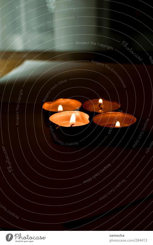 Im dunkeln Weihnachten & Advent schön Wärme Feste & Feiern hell Stimmung Anti-Weihnachten Warmherzigkeit Dekoration & Verzierung Feuer Romantik Kerze heiß