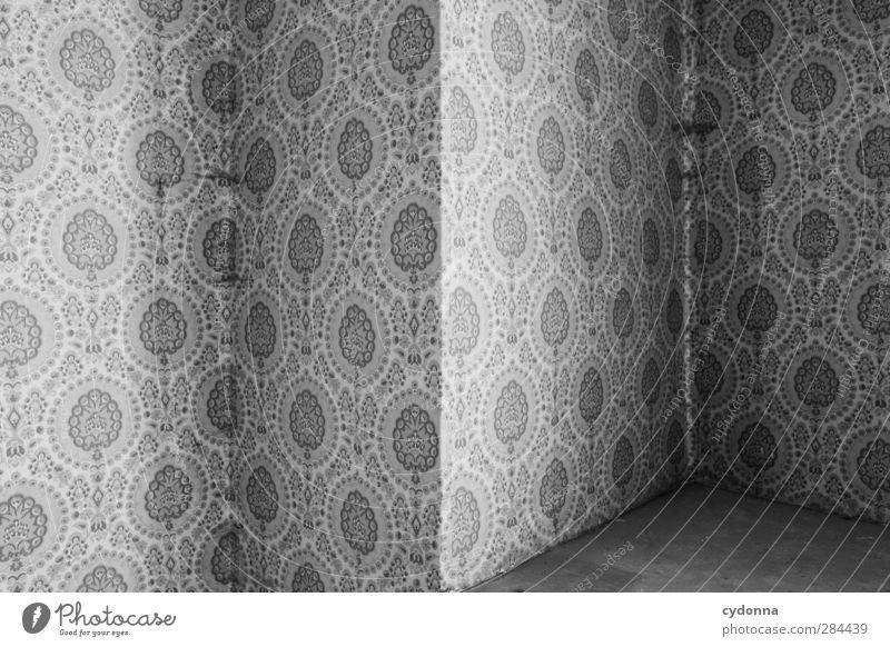 Nischenprodukt Lifestyle Design Häusliches Leben Tapete Raum Mauer Wand Ornament ästhetisch Einsamkeit entdecken einzigartig Kreativität Nostalgie ruhig