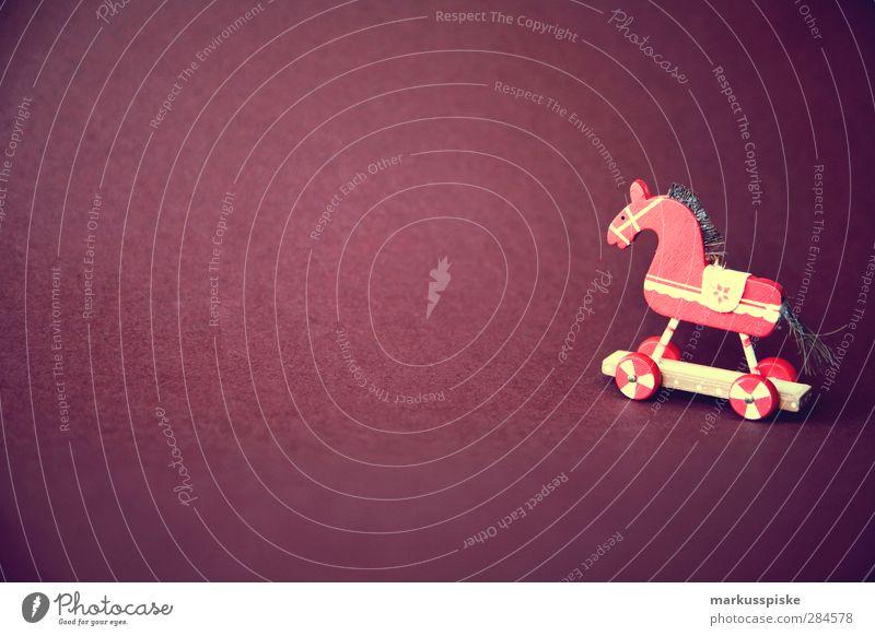 weihnachts dekoration pferd Lifestyle Reichtum Stil Design Häusliches Leben Wohnung Haus Dekoration & Verzierung Wohnzimmer Kinderzimmer Feste & Feiern