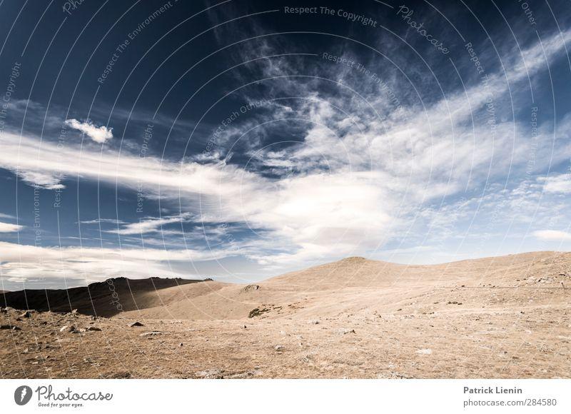 Wild Horses Himmel Natur Wolken ruhig Landschaft Erholung Ferne Umwelt nackt Berge u. Gebirge Freiheit Sand Erde Luft Felsen Wetter