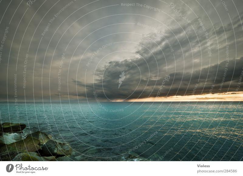 Hiddensee | ...Hiddendream Natur Landschaft Wolken Gewitterwolken Horizont Sonnenaufgang Sonnenuntergang Frühling schlechtes Wetter Küste Ostsee Meer Insel
