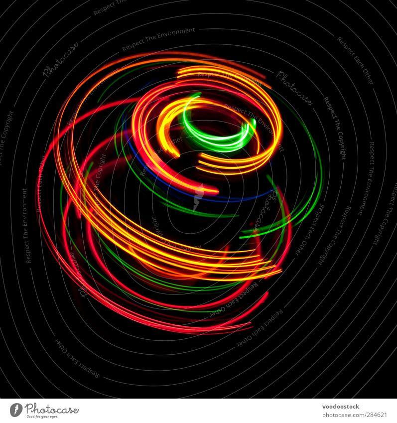grün rot Farbe schwarz gelb Bewegung Architektur hell Linie gold Zukunft Streifen Dynamik Kurve Fortschritt rotieren