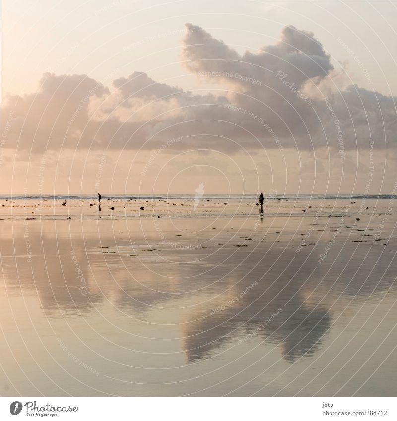 walking on the sky Ferien & Urlaub & Reisen Ferne Sommer Landschaft Meer entdecken genießen frei Unendlichkeit schön Gelassenheit geduldig ruhig Leben