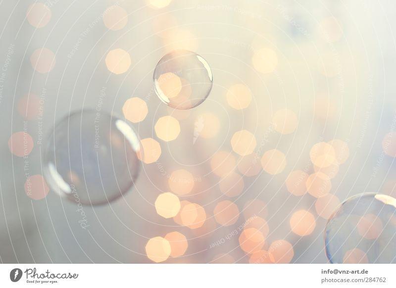 Bubble Weihnachten & Advent gelb Wärme Lampe glänzend 3 Silvester u. Neujahr Kugel Reichtum Schweben Blase Seifenblase