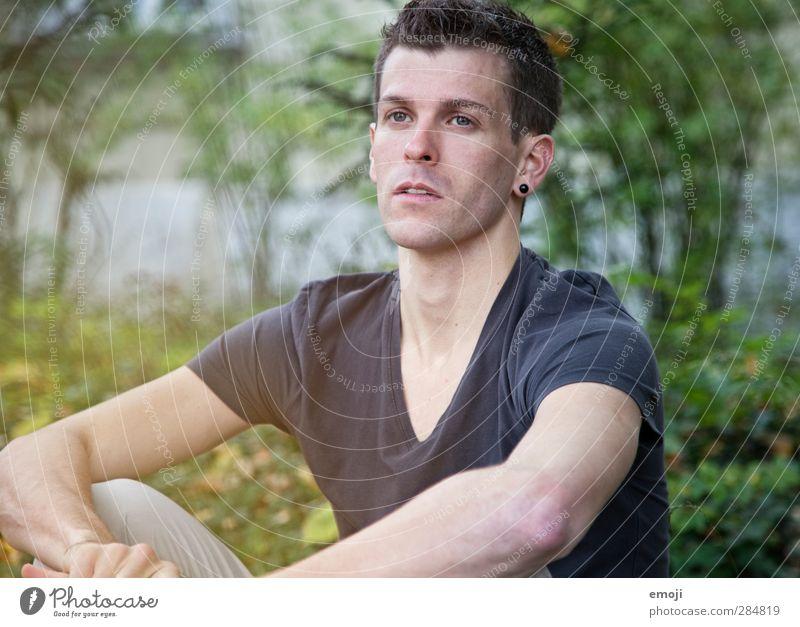 M. maskulin Junger Mann Jugendliche 1 Mensch 30-45 Jahre Erwachsene Umwelt Natur schön natürlich neutral Blick Zukunft Zukunftsorientiert Farbfoto Tag