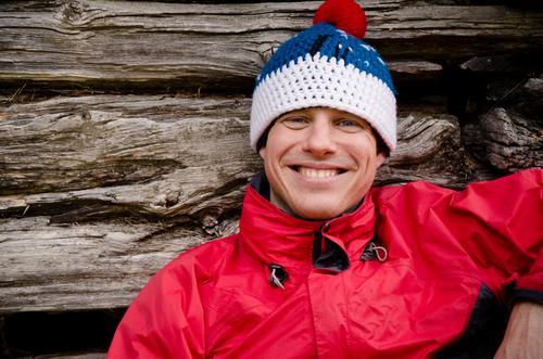 draußen sein macht glücklich. Mensch Mann Jugendliche Ferien & Urlaub & Reisen Erholung Erwachsene Gesicht Leben lachen Glück Junger Mann Kopf Zufriedenheit