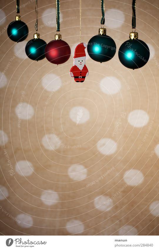Nikolaus Weihnachten & Advent Feste & Feiern Dekoration & Verzierung Kitsch Weihnachtsmann Handel Christbaumkugel Vorfreude Weihnachtsdekoration Weihnachtsfigur