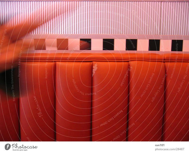 rotsitz Sofa Hand schwarz weiß Freizeit & Hobby Sitzgelegenheit Bank silber