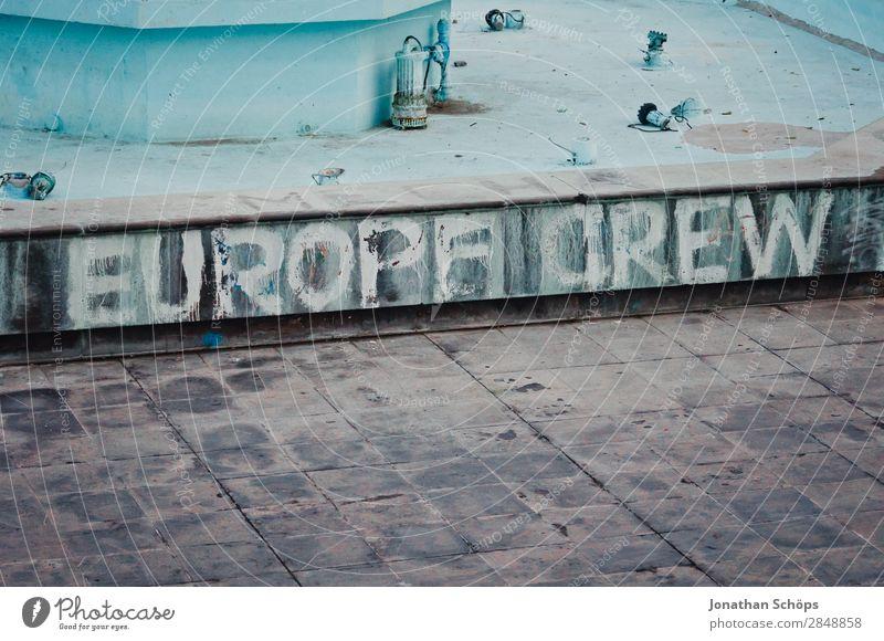 Europe Crew Stadt Hafenstadt ästhetisch Teneriffa Platz Öffentlich blau Europa Europäer Eurozeichen Europa Parlament Europatag Team Teamwork Zusammenhalt