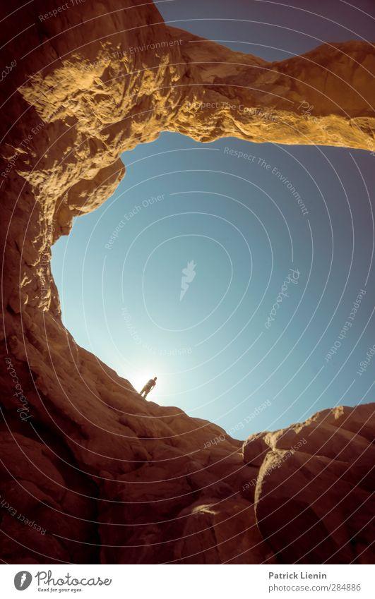 The Great Escape Leben harmonisch Wohlgefühl Zufriedenheit Sinnesorgane Erholung ruhig Meditation Abenteuer Ferne Freiheit Sommer Körper 1 Mensch Umwelt Natur