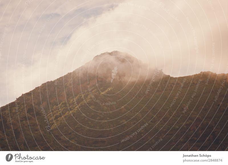 Berge in San Andrés, Santa Cruz de Tenerife, Teneriffa Berge u. Gebirge Nebel Landschaft Natur San Andres Santa Cruz de Teneriffa Kanaren Reisefotografie