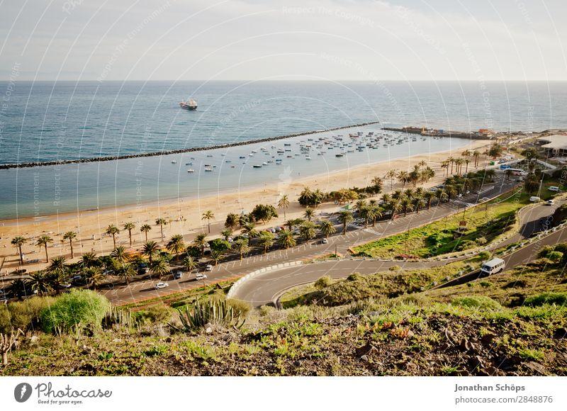 Strand in San Andrés, Santa Cruz de Tenerife, Teneriffa Natur Landschaft Himmel Sonne Schönes Wetter San Andres Santa Cruz de Teneriffa Kanaren Reisefotografie