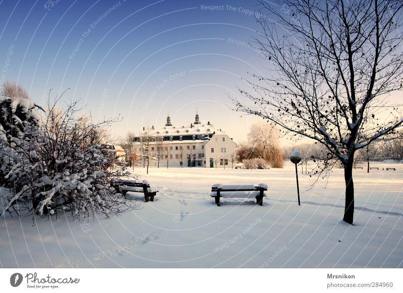 Blankenhain Natur blau Baum Erholung Landschaft Winter kalt Liebe Schnee Gebäude Park Eis Tourismus Idylle wandern laufen