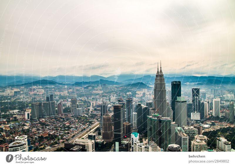 herausragend | superlative Ferien & Urlaub & Reisen Tourismus Ausflug Abenteuer Ferne Freiheit Kuala Lumpur Malaysia Asien Hauptstadt Stadtzentrum Haus Hochhaus