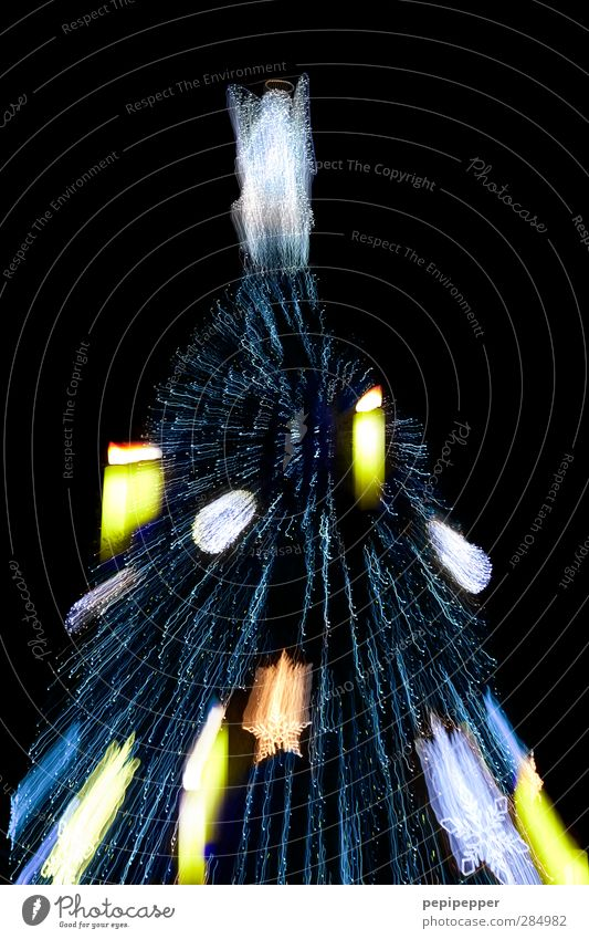 x-plosion Weihnachten & Advent Stadt Baum Feste & Feiern Stimmung groß leuchten Dekoration & Verzierung Dinge Zeichen Kerze Weihnachtsbaum Stadtzentrum Sehenswürdigkeit stachelig Ornament