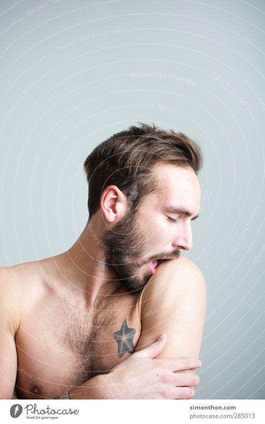 Narzist Mensch Jugendliche schön Erotik 18-30 Jahre Erwachsene Liebe maskulin Zufriedenheit Haut verrückt Sex Warmherzigkeit Romantik Tattoo Vertrauen