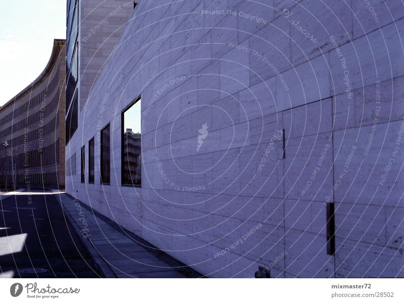 Berlin Aussenministerium Ministerium Politik & Staat Rückansicht Fenster Architektur